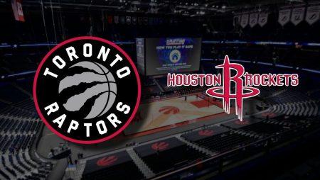 Apostas Toronto Raptors x Houston Rockets NBA 26/02/2021
