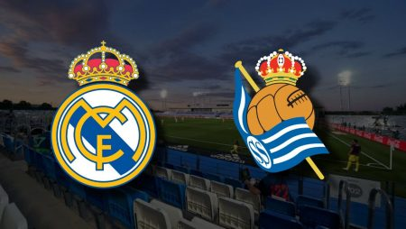 Apostas Real Madrid x Real Sociedad La Liga 01/03/2021
