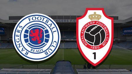 Apostas Rangers x Antwerp Europa League 25/02/2021