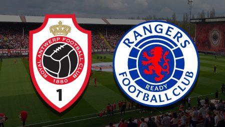 Apostas Antwerp x Rangers Europa League 18/02/2021