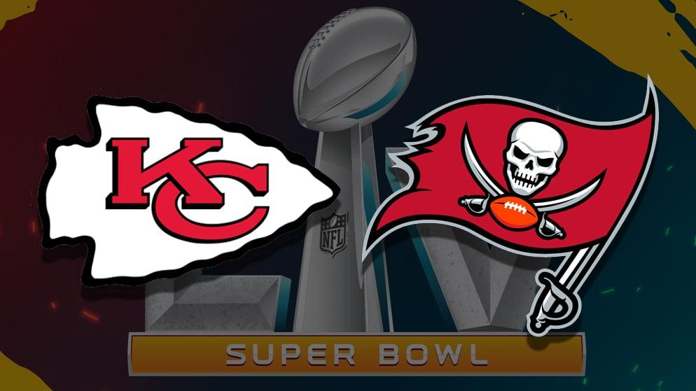 Apostas Super Bowl 55 Tampa Bay Buccaneers x Kansas City Chiefs 07/02/2021