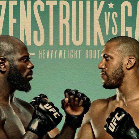 Apostas UFC Rozenstruik x Gane 26/02/21