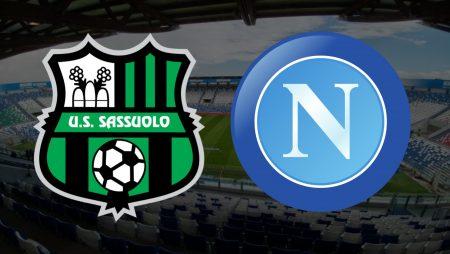 Apostas Sassuolo x Napoli Campeonato Italiano 03/03/2021