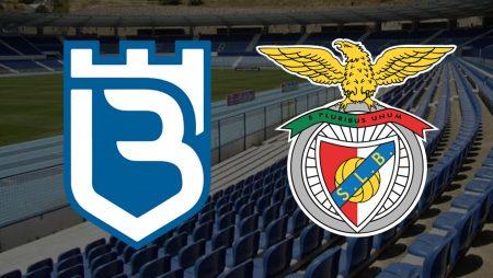 Apostas Belenenses x Benfica Campeonato Português 08/03/2021