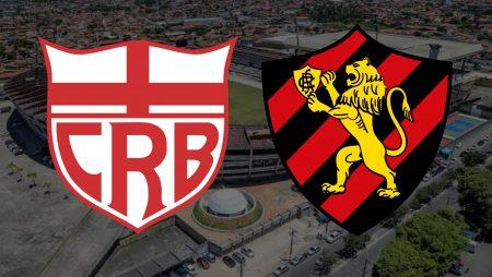 Apostas CRB x Sport Copa do Nordeste 06/03/2021