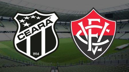 Apostas Ceará x Vitória Copa do Nordeste 06/03/2021
