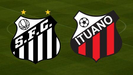 Apostas Santos x Ituano Paulistão 13/03/2021