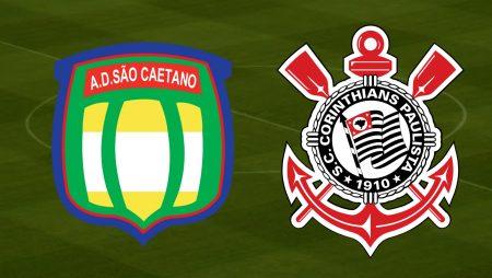 Apostas São Caetano x Corinthians Paulistão 14/03/2021