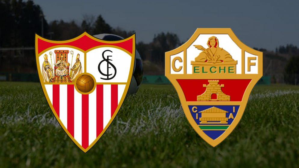 Apostas Sevilla x Elche La Liga 17/03/21