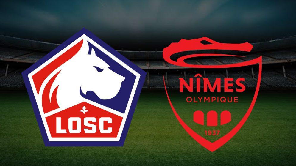 Apostas Lille x Nîmes Ligue 1 21/03/21