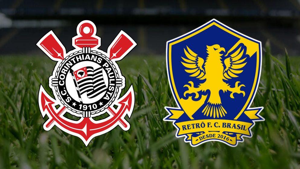 Apostas Corinthians x Retrô Copa do Brasil 26/03/21
