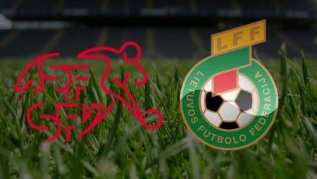 Apostas Suíça x Lituânia Eliminatórias Copa do Mundo 28/03/21