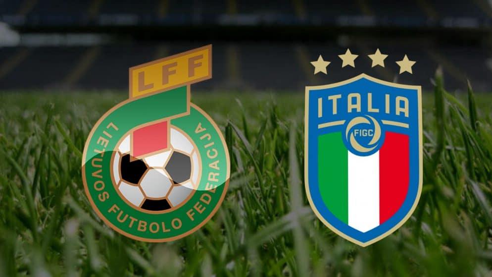 Apostas Lituânia x Itália Eliminatórias Copa do Mundo 31/03/21