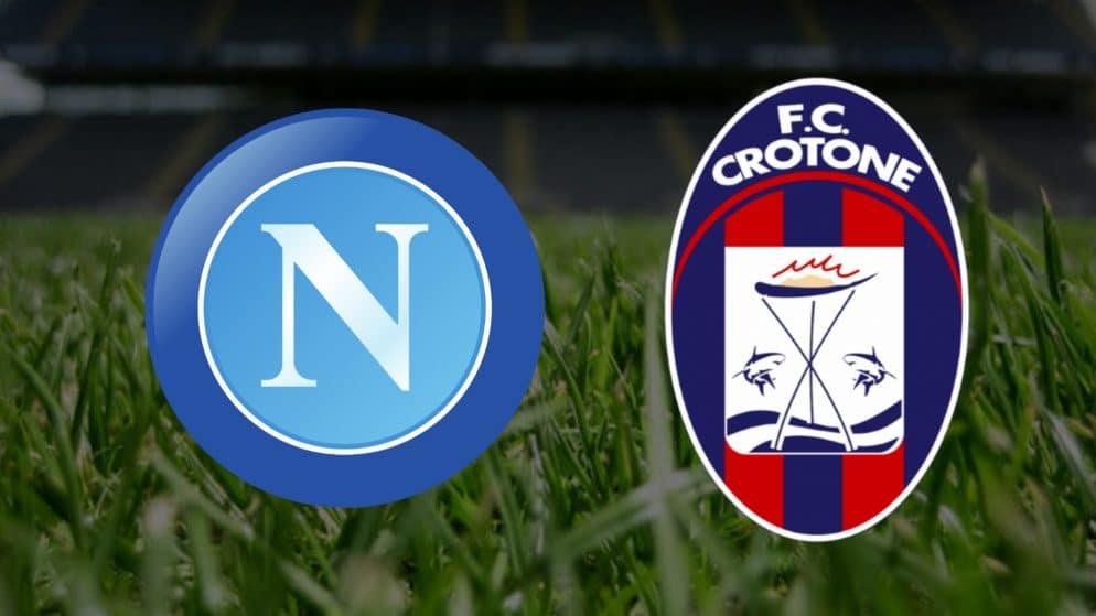 Apostas Napoli x Crotone Serie A 03/04/21