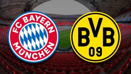 Apostas Bayern de Munique x Borussia Dortmund Bundesliga 06/03/21