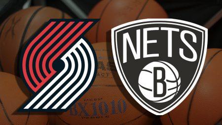Apostas Portland Trail Blazers x Brooklyn Nets NBA 23/03/21