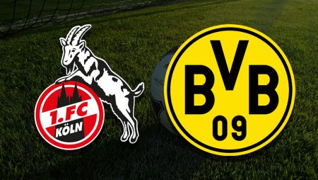 Apostas Colônia x Borussia Dortmund Bundesliga 20/03/21