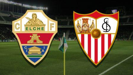 Apostas Elche x Sevilla La Liga 06/03/21