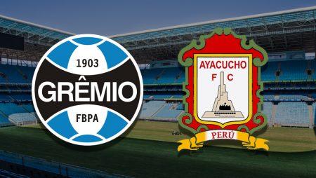 Apostas Grêmio x Ayacucho Pré-Libertadores 10/03/21