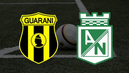 Apostas Guaraní x Atlético Nacional Pré-Libertadores 11/03/21