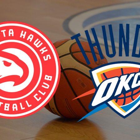 Apostas Atlanta Hawks x Oklahoma City Thunder NBA 18/03/21