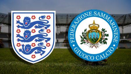 Apostas Inglaterra x San Marino Eliminatórias Copa do Mundo 25/03/21