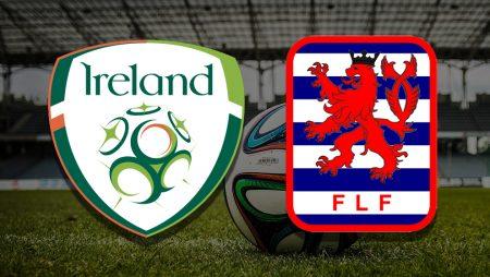 Apostas Irlanda x Luxemburgo Eliminatórias Copa do Mundo 27/03/21