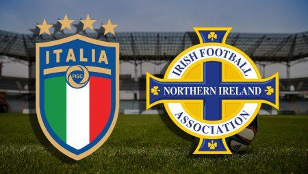Apostas Itália x Irlanda do Norte Eliminatórias Copa do Mundo 25/03/21