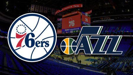 Apostas Philadelphia 76ers x Utah Jazz NBA 03/03/21