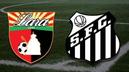 Apostas Deportivo Lara x Santos Pré-Libertadores 16/03/21