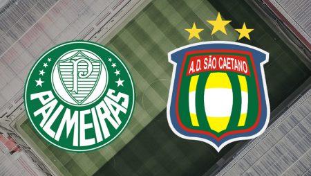 Apostas Palmeiras x São Caetano Paulistão 11/03/21