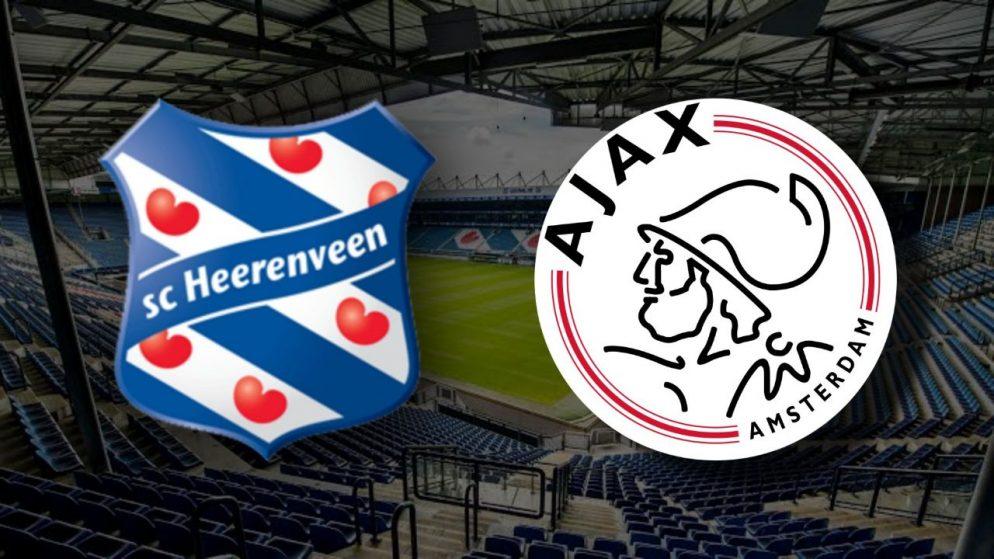 Apostas Heerenveen x Ajax Copa da Holanda 03/03/21