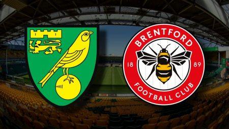 Apostas Norwich City x Brentford Championship 03/03/21