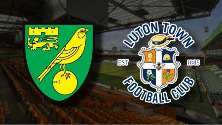 Apostas Norwich City x Luton Town Championship 06/03/21