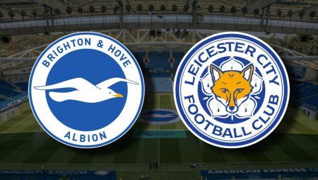 Apostas Brighton x Leicester Premier League 06/03/21