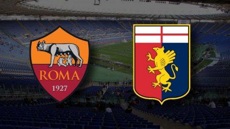 Apostas Roma x Genoa Serie A 07/03/21