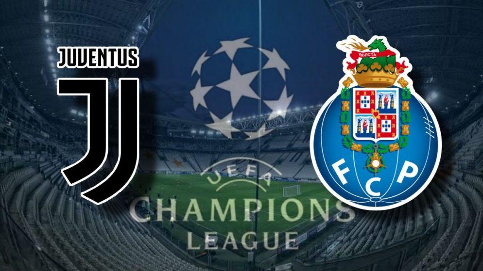 Apostas Juventus x Porto Liga dos Campeões 09/03/21