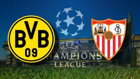Apostas Borussia Dortmund x Sevilla Liga dos Campeões 09/03/21