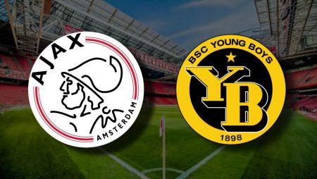 Apostas Ajax x Young Boys Liga Europa 11/03/21
