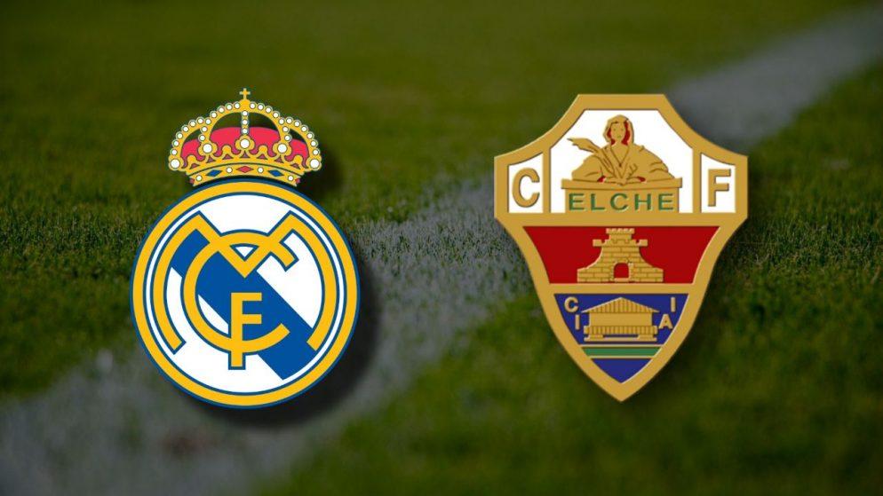 Apostas Real Madrid x Elche La Liga 13/03/21