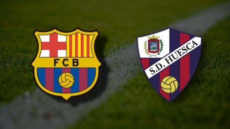 Apostas Barcelona x Huesca La Liga 15/03/21