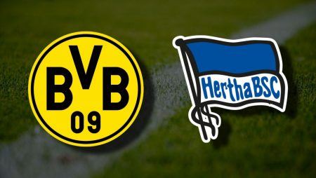 Apostas Borussia Dortmund x Hertha Berlin Bundesliga 13/03/21