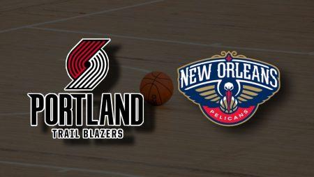 Apostas Portland Trail Blazzers x New Orleans Pelicans NBA 16/03/21