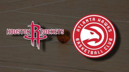 Apostas Houston Rockets x Atlanta Hawks NBA 16/03/21