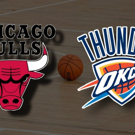 Apostas Chicago Bulls x Oklahoma City Thunder NBA 16/03/21