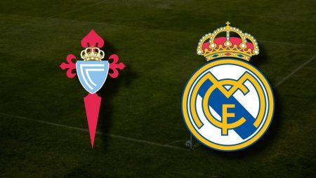 Apostas Celta de Vigo x Real Madrid La Liga 20/03/21