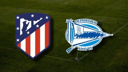 Apostas Atlético de Madrid x Deportivo Alavés La Liga 21/03/21
