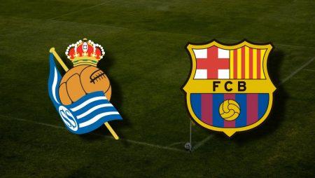 Apostas Real Sociedad x Barcelona La Liga 21/03/21