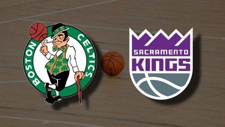 Apostas Boston Celtics x Sacramento Kings NBA 19/03/21