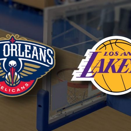 Apostas New Orleans Pelicans x Los Angeles Lakers NBA 23/03/21